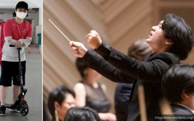 Singaporean Music Conductor Who Became A Delivery Rider Due To Covid-19 Gets Advisory Role in Arts Charity