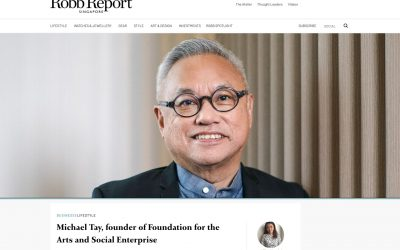 Robb Report Singapore's Thought Leaders of 2021